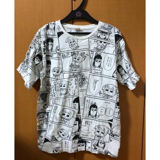 シマムラ(しまむら)のポプテピピック しまむら Tシャツ(Tシャツ/カットソー(半袖/袖なし))