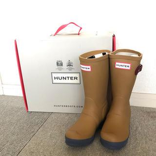 ハンター(HUNTER)の【新品未使用】HUNTER ハンターレインブーツ (長靴/レインシューズ)