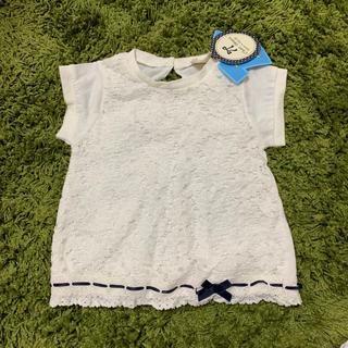 シマムラ(しまむら)のタグ付き未使用 レースTシャツ(Tシャツ/カットソー)