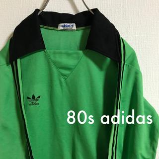 アディダス(adidas)の古着 アディダス ゲームシャツ 80s(Tシャツ/カットソー(七分/長袖))