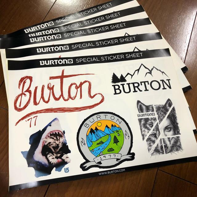 BURTON(バートン)のバートンステッカー スポーツ/アウトドアのスノーボード(アクセサリー)の商品写真