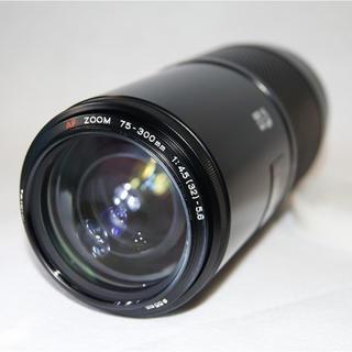 KONICA MINOLTA - MINOLTA AF ZOOM 75-300mm 1:4.5-5.6 初代