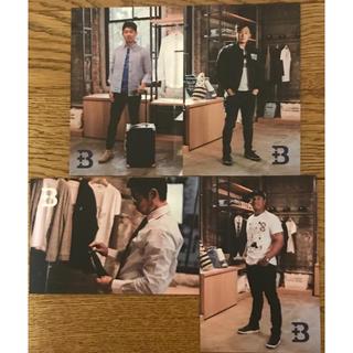 ヨコハマディーエヌエーベイスターズ(横浜DeNAベイスターズ)の横浜ベイスターズ 選手写真 絵葉書(非売品)4枚セット(記念品/関連グッズ)