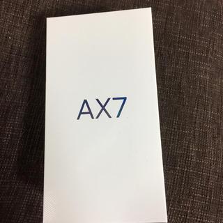 アンドロイド(ANDROID)のax7 ゴールド 64GB simフリー car様専用(スマートフォン本体)