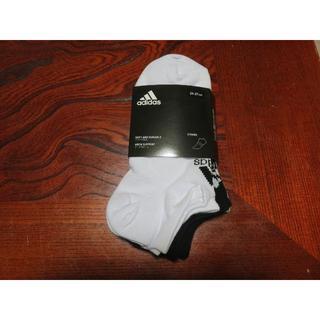アディダス(adidas)のアディダス メンズ ソックス 3足組 25~27㎝(ソックス)