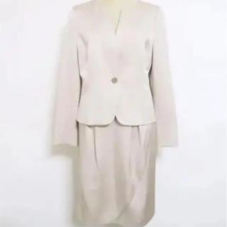 67bfb708ebcb3b アナイ(ANAYI)のANAYI アナイ スカートスーツ 38 セットアップ ノーカラージャケット(スーツ