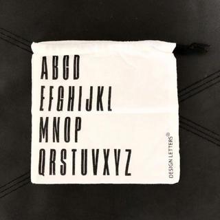 アクタス(ACTUS)の新品 デザインレターズ design lettes モノトーン 巾着(ポーチ)