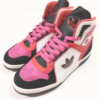アディダス(adidas)の美品☆ adidas バッシュ 23.5㌢(バスケットボール)