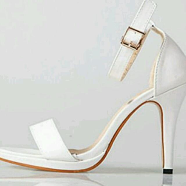 Y28黒35♥オープントゥパンプス レディースの靴/シューズ(サンダル)の商品写真