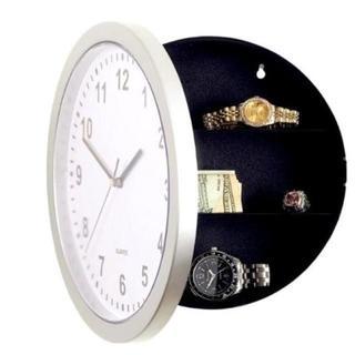 おどろき!!壁掛け時計型隠し金庫 ☆ へそくりに最適(掛時計/柱時計)