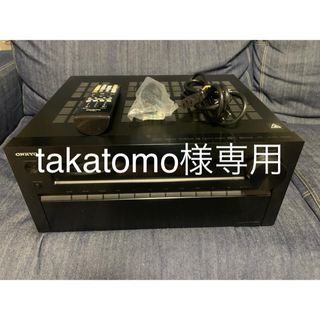 ONKYO - ONKYO NR838 7.1ch AVアンプ ドルビーアトモス