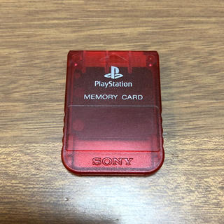 プレイステーション(PlayStation)のプレイステーション PS メモリーカード(その他)