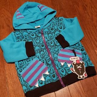 シマムラ(しまむら)の子供服90 モンスタージップパーカー(ジャケット/上着)