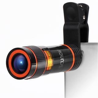 HDスマホ望遠レンズ  12Xズーム クリップ式(レンズ(ズーム))