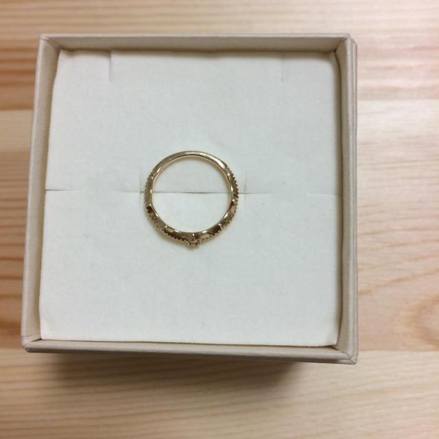 NOJESS(ノジェス)のK10ピンキーリング  1号 レディースのアクセサリー(リング(指輪))の商品写真