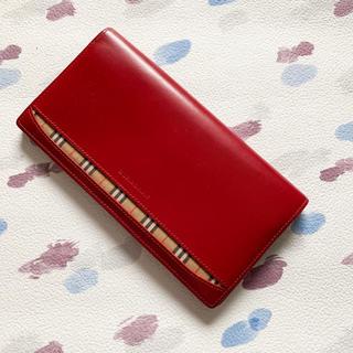 3bcbf721c27e バーバリー(BURBERRY) 財布(レディース)(レッド/赤色系)の通販 99点 ...