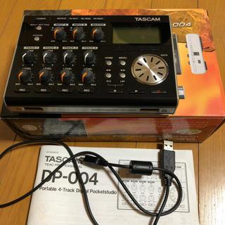 TASCAM DP-004 デジタルポケットスタジオ(MTR)
