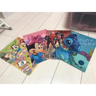 ディズニー(Disney)のディズニークリアファイルセット(クリアファイル)