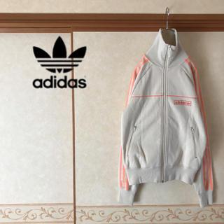 アディダス(adidas)の【極美品】80s 復刻版 adidas ワンポイントロゴ フルジップブルゾン(ブルゾン)