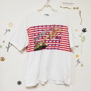 ジュンヤワタナベコムデギャルソン(JUNYA WATANABE COMME des GARCONS)のCOMME des GARCONS ジュンヤワタナベ(Tシャツ/カットソー(半袖/袖なし))