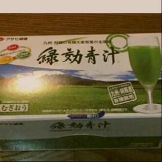 アサヒ(アサヒ)のアサヒ緑健 緑効青汁 (青汁/ケール加工食品 )