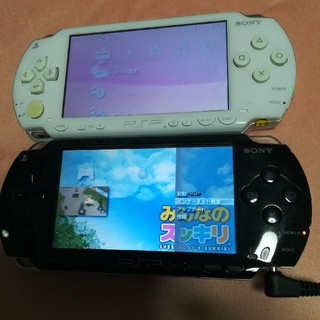 PlayStation Portable - PSP 2台セット 白黒 SONY