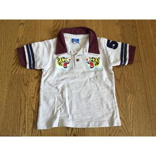 ダット(DAT)の新品未使用DATトラプリントポロシャツ100(Tシャツ/カットソー)