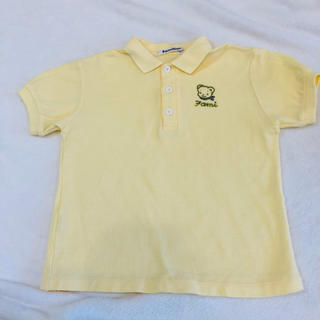 ファミリア(familiar)のファミリア 黄色のポロシャツ 110(Tシャツ/カットソー)