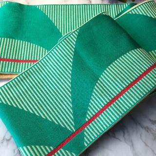 2040半幅帯 浴衣 和装小物 アンティーク(帯)