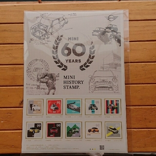 MINI ミニ  60years 記念切手 非売品