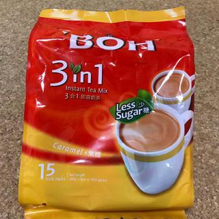 ボー(BOH)のBOH TEA インスタントミルクティー キャラメルフレーバー 15袋入り(茶)