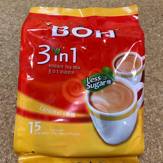 BOH - BOH TEA インスタントミルクティー キャラメルフレーバー 15袋入り