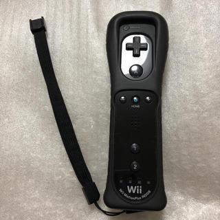 ウィーユー(Wii U)のwiiリモコンプラス(くろ)(その他)