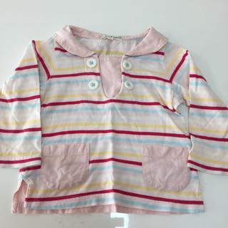 サンカンシオン(3can4on)のセーラー長袖 80(Tシャツ)