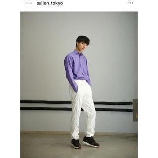 ジルサンダー(Jil Sander)のsullen jil sander  purple shirts(シャツ)