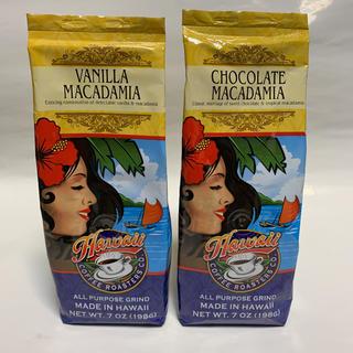 コナ(Kona)のハワイ コーヒーロースターズ バニラマカデミア&チョコレートマカデミア セット(その他)