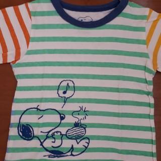 ファミリア(familiar)のファミリア スヌーピー 半袖 Tシャツ(Tシャツ/カットソー)