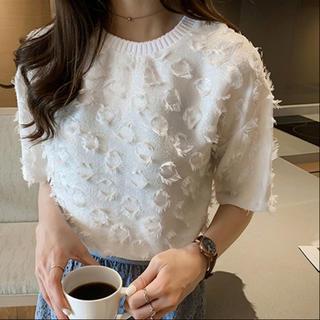 アメリヴィンテージ(Ameri VINTAGE)のぽんぽんTシャツ(Tシャツ(半袖/袖なし))