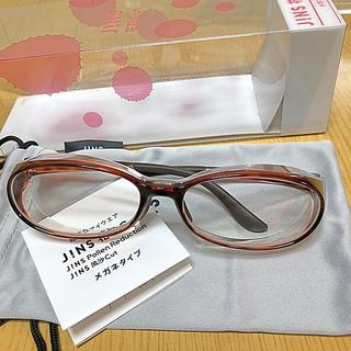 ジンズ(JINS)のJINS 花粉メガネ《新品、未使用》お値下げ(サングラス/メガネ)