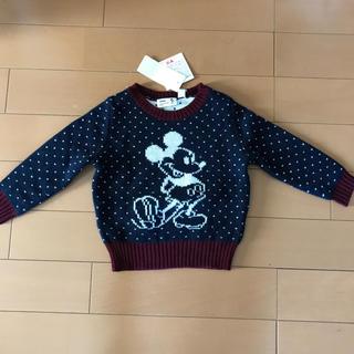 ユニクロ(UNIQLO)のセーター  100(ニット)