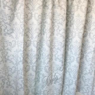 レディー(Rady)のrady ロイヤルダマスク カーテン ホワイト(カーテン)