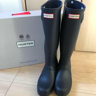 ハンター(HUNTER)の試着のみ!Hunter レインブーツ 6 ネイビー(レインブーツ/長靴)