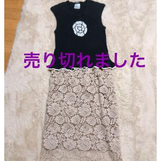 シャネル(CHANEL)のCHANELカメリアトップス(Tシャツ(半袖/袖なし))