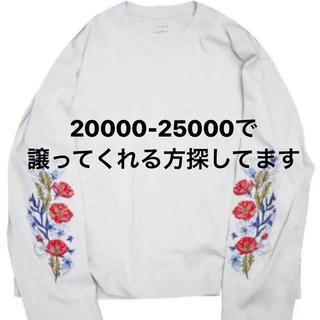 ジエダ(Jieda)のjieda flower(Tシャツ/カットソー(七分/長袖))