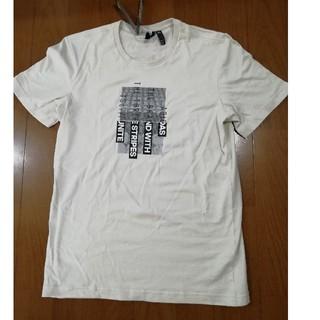 アディダス(adidas)のadidas19SS 最新作ロゴプリントT ベージュL 未使用タグ付き(Tシャツ/カットソー(半袖/袖なし))