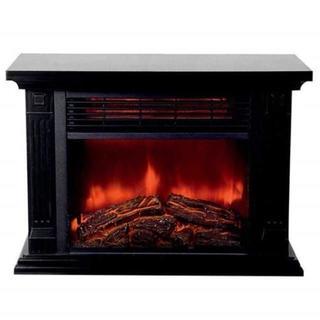 【在庫わずか】おしゃれな暖炉型ファンヒーター クリスマスにも(ファンヒーター)