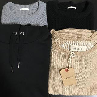 ジーユー(GU)のGU ジーユー etc 4着まとめ売り(ニット/セーター)