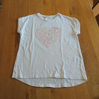 ジーユー(GU)のGU スパンコール Tシャツ 150㎝ (Tシャツ/カットソー)