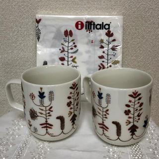 イッタラ(iittala)のイッタラ Sarjaton VARPU マグカップ&ペーパーナプキンセット(グラス/カップ)