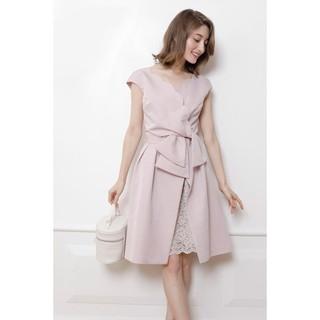 リランドチュール(Rirandture)の⭐️リランドチュール⭐️ ピンク 2WAY スカラ ドレス ワンピース(ひざ丈ワンピース)